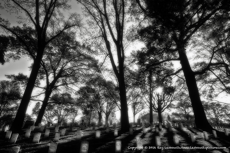 The Marietta National Cemetery