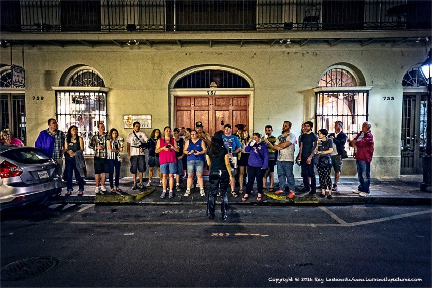 Street schooling in The French Quarter.