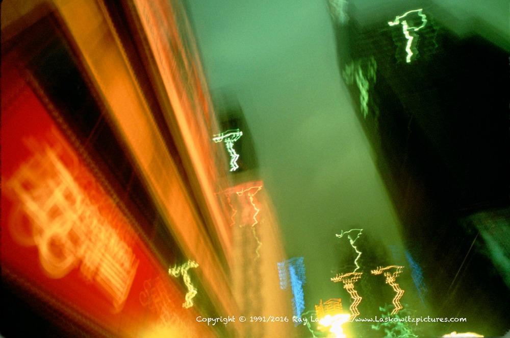 Mushy Times Square, New York City.
