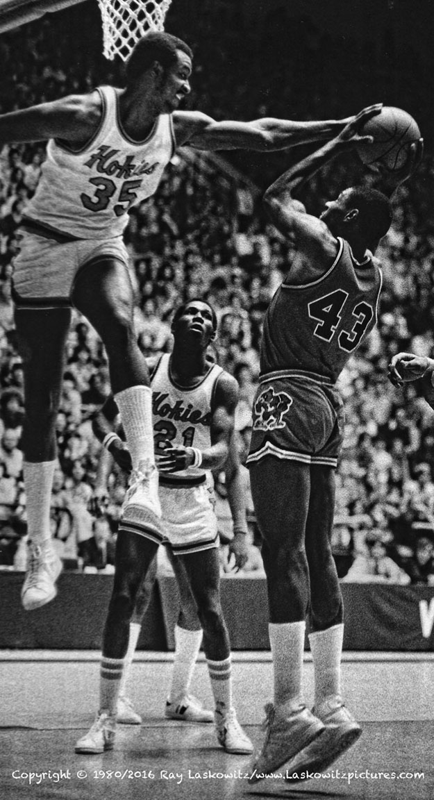 Ralph Sampson, Virginia Tech.