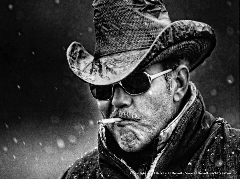 A real cowboy in North Carolina.