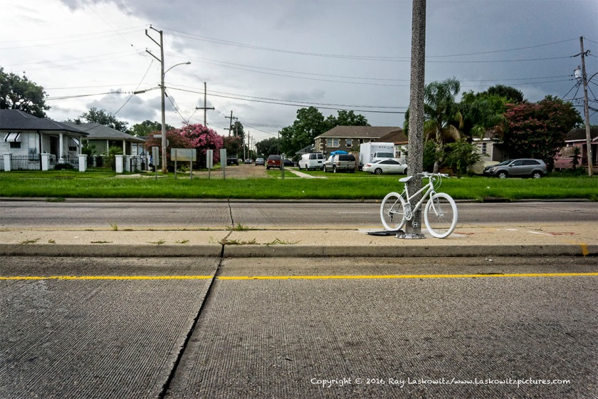 Ghost bike.