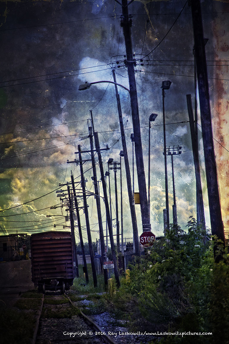 Experimental railroad.