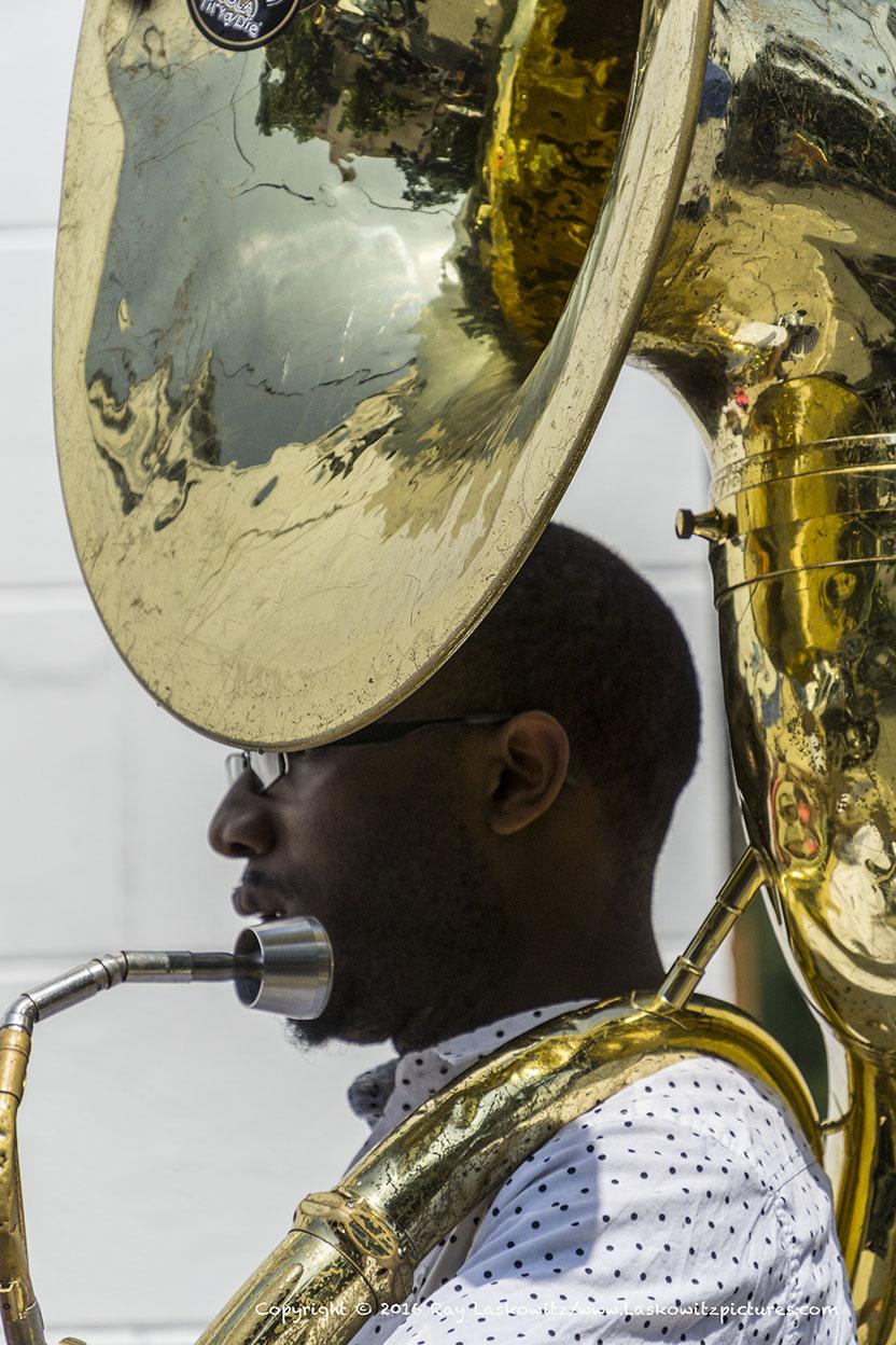 Tuba portrait.
