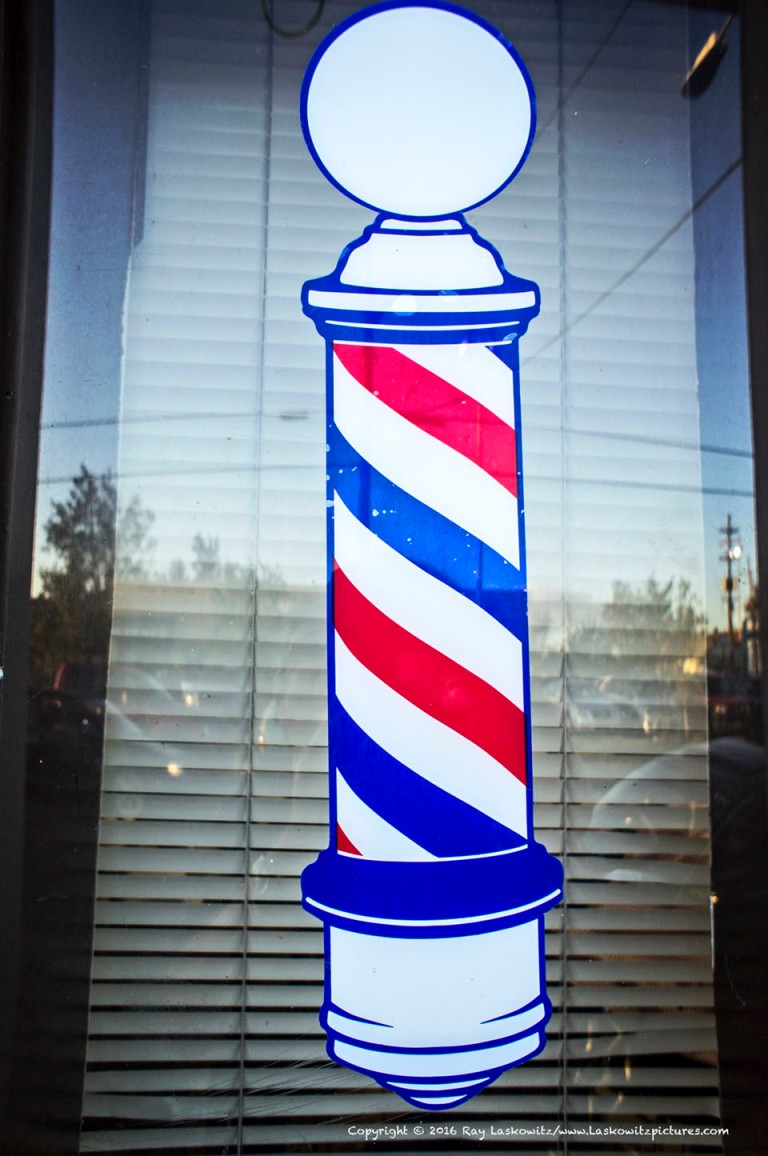 Old school barber shop.