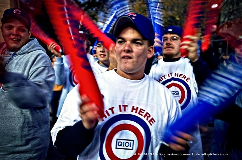 Chicago Cub fans.