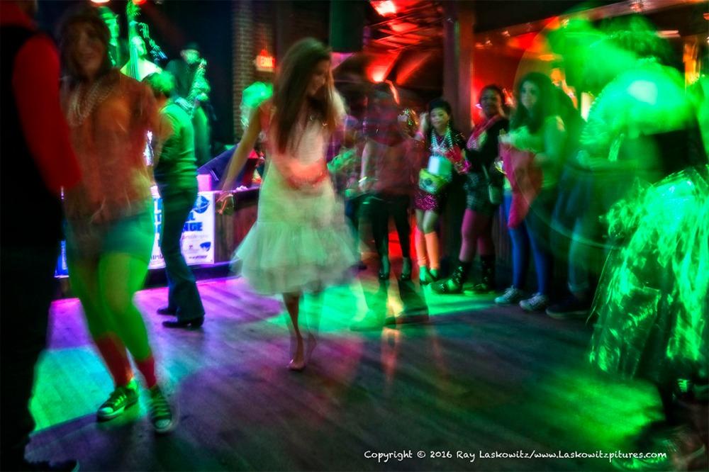 A little dancing.