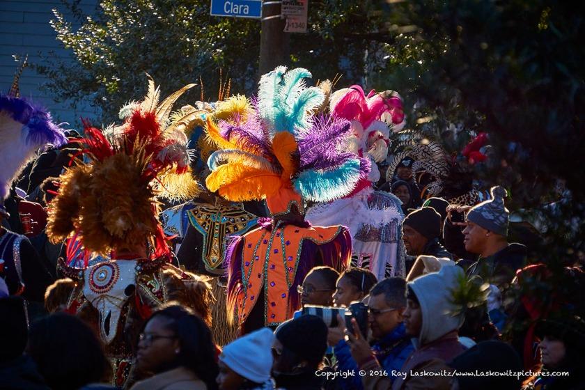 Zulus on Mardi Gras Day.