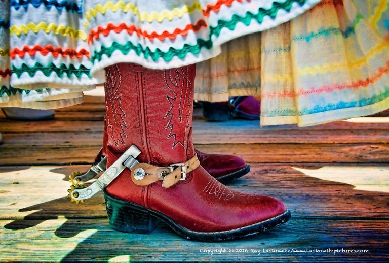 Dancing boots.