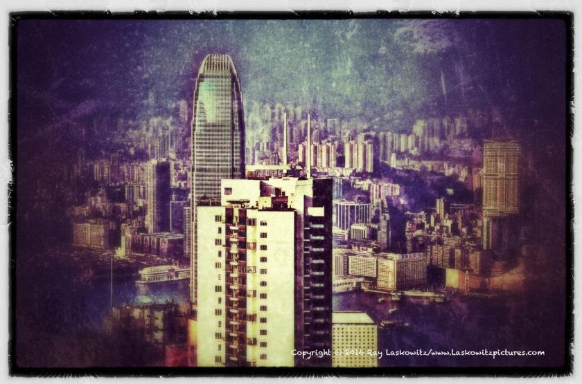 Hong Kong days.