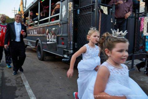 Princesses on the move.
