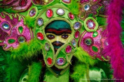 Mardi Gras Indians Super Sunday.