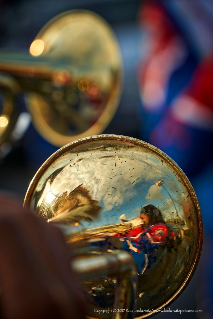Trumpet reflections.