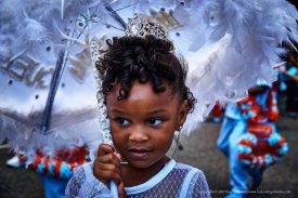 The littlest queen.