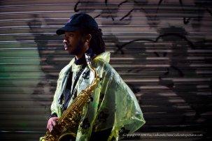 Jazz portrait.