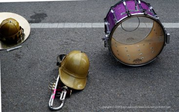 Gear on the street.