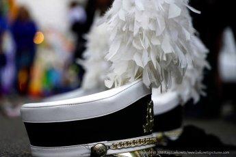 Band major's cap.