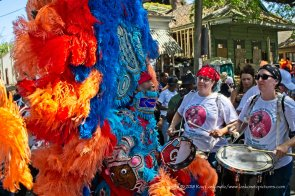 Big Chief John on the street.