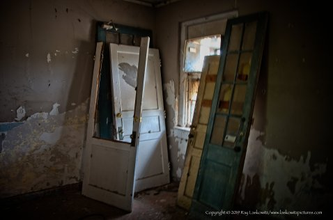 Doors, and doors, and doors.